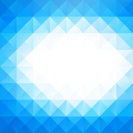 abstract vector background: Blue Grid Mosaic Background, Creative Design Templates