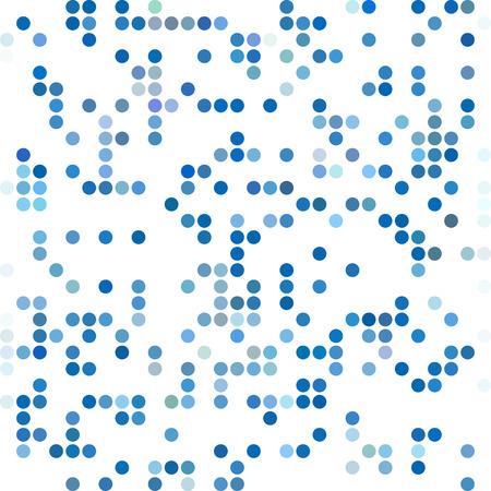 dots background: Blue Random Dots Background, Creative Design Templates