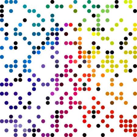 dots background: Colorful Random Dots Background, Creative Design Templates
