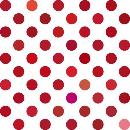 lunares rojos: Rojo Lunares fondo, plantillas de dise�o creativo Vectores