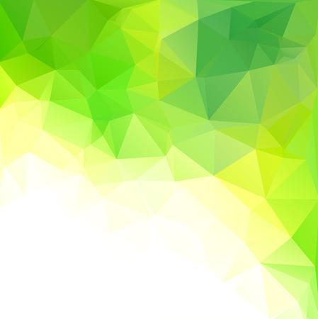 Grün Polygonal Mosaic Hintergrund, kreatives Design Vorlagen