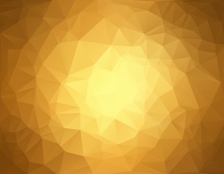 Brown Polygonal Mosaic Background, Creative Design Templates