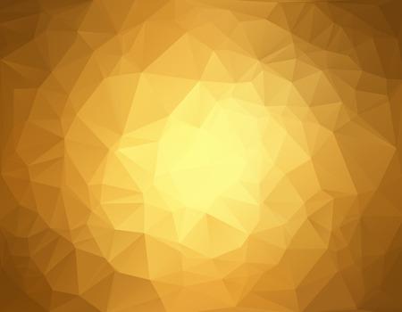 Brown Polygonal Mosaic Background, Creative Design Templates