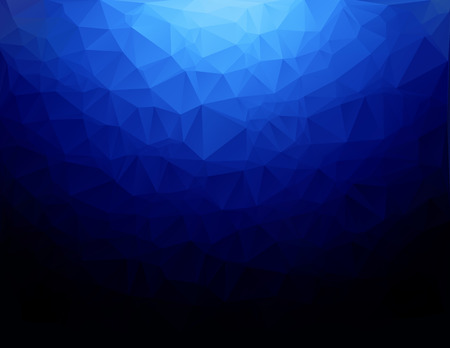 mosaic background: Blue Polygonal Mosaic Background, Creative Design Templates