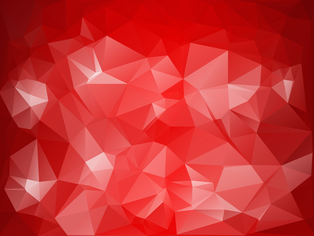 shape triangle: Red Polygonal Mosaic Background, Creative Design Templates