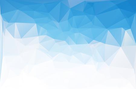 fondo geometrico: Antecedentes poligonal mosaico azul, plantillas de diseño creativo