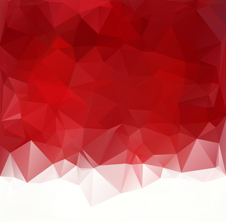 Red Polygonal Mosaic Background, Creative Design Templates Banco de Imagens - 43091528