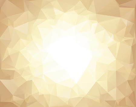 Brown Polygonal Mosaic Hintergrund, kreatives Design Vorlagen
