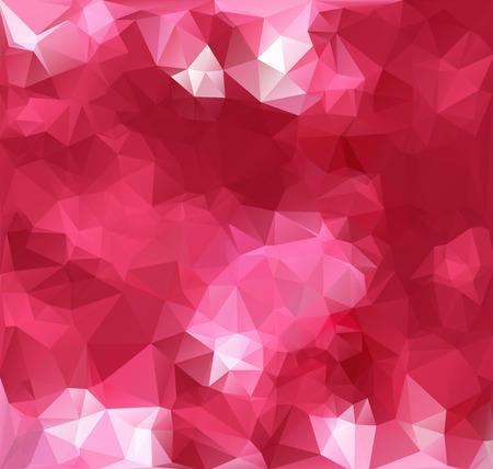 핑크 다각형 모자이크 배경, 크리 에이 티브 디자인 템플릿