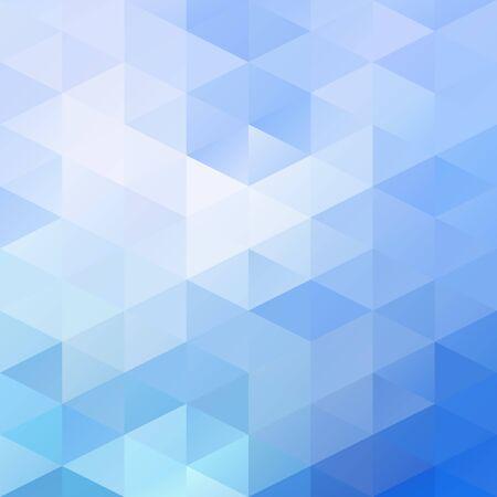 mosaic background: Blue Grid Mosaic Background Illustration