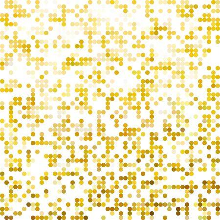 dots background: Yellow Random Dots Background