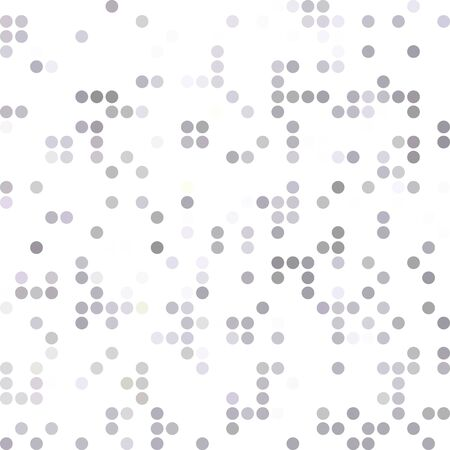 dots background: Gray White Random Dots Background