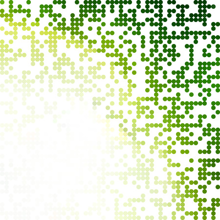 Green Random Dots Background