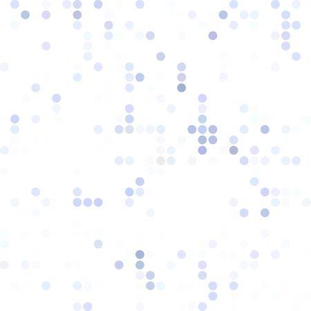 dots background: Blue Random Dots Background