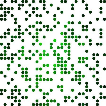 dots background: Green Random Dots Background