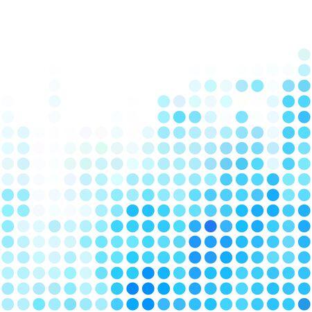 dots background: Blue Dots Background