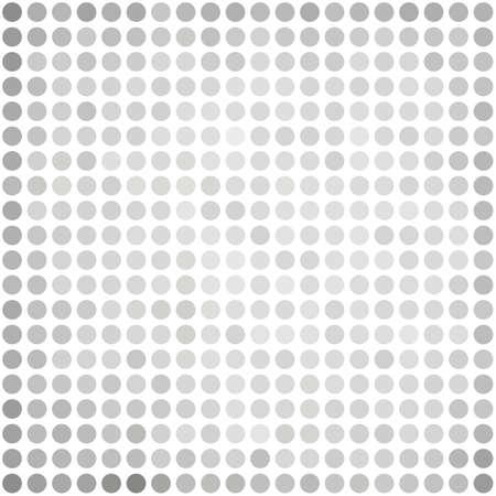 dots background: Gray White Dots Background Illustration
