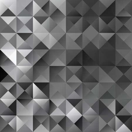 mosaic background: Black Grid Mosaic Background Illustration
