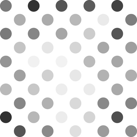 repetition dotted row: Gray White Polka Dots Background