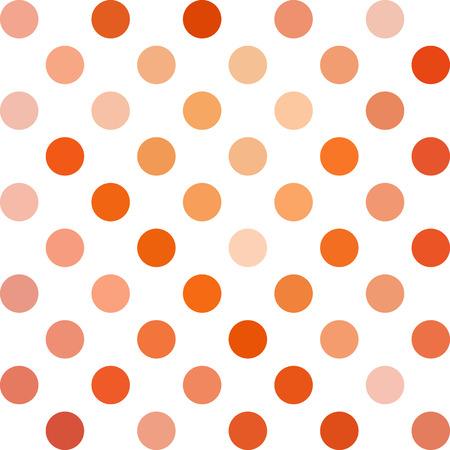 red polka dots: Red de lunares de fondo Vectores