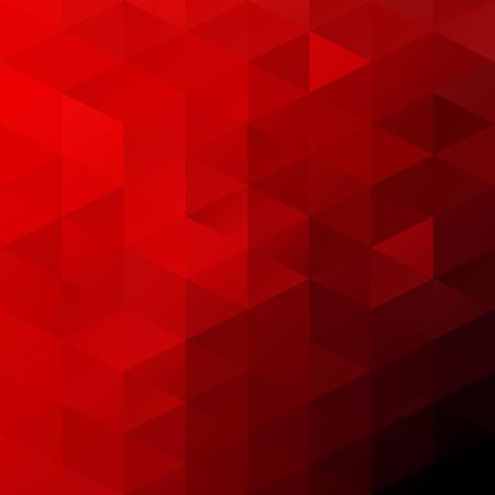 mosaic background: Red Grid Mosaic Background