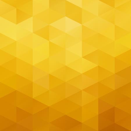 mosaic background: Yellow Grid Mosaic Background