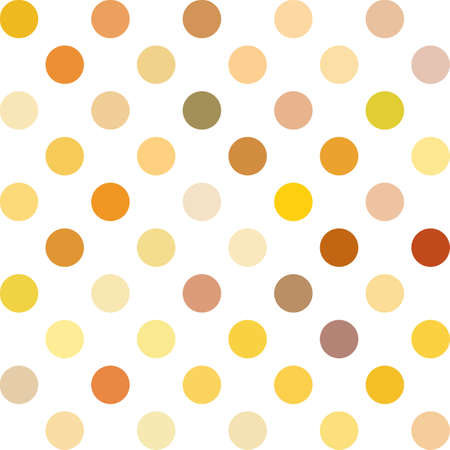 repetition dotted row: Orange Polka Dots Background, Creative Design Templates Illustration