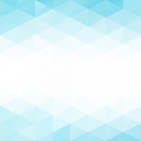 square abstract: Blue Grid Mosaic Background, Creative Design Templates