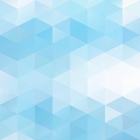 Blue Grid Mozaïekachtergrond, Creative Design Templates