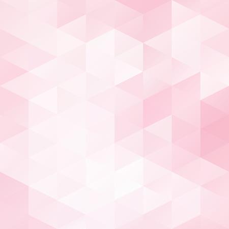 Pink Grid Mosaic Background, Creative Design Templates Illustration