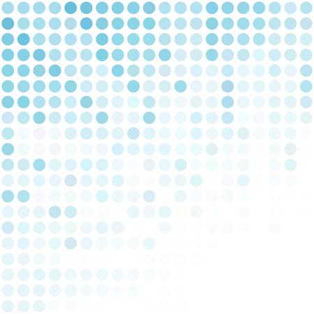 Blau punktiert Hintergrund, kreatives Design Vorlagen Illustration