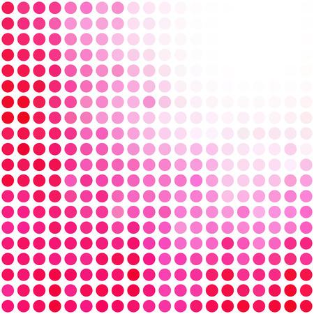 ピンクのランダムなドットの背景、創造的なデザイン テンプレート