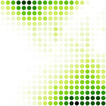 Grün Zufalls Dots Hintergrund, kreatives Design Vorlagen