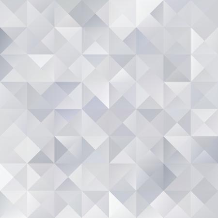 灰色のグリッド モザイクの背景、創造的なデザイン テンプレート  イラスト・ベクター素材