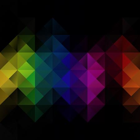 Colorful Grid Mosaic Hintergrund, kreatives Design Vorlagen