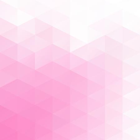 Rosa Grid Mosaic Hintergrund, kreatives Design Vorlagen Illustration