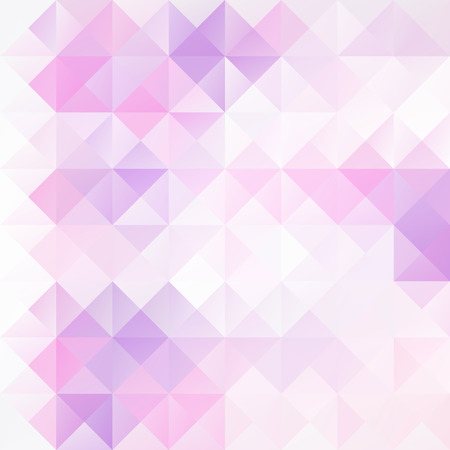 紫グリッド モザイクの背景、創造的なデザイン テンプレート