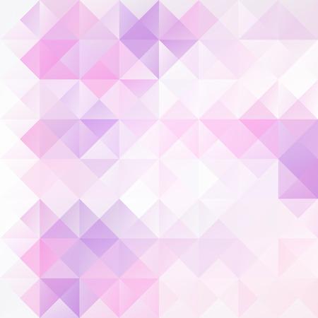 보라색 격자 모자이크 배경, 크리에이티브 디자인 템플릿 일러스트