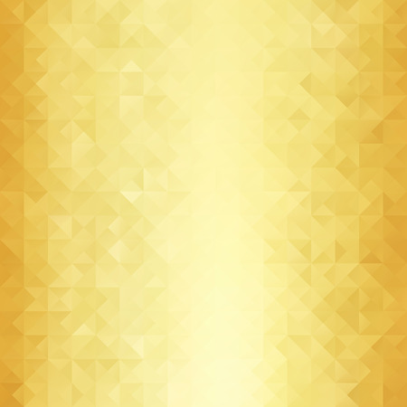 reflective: Gold Grid Mosaic Background, Creative Design Templates Illustration