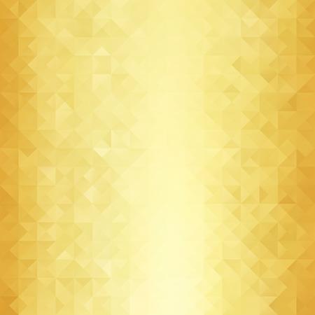 Gold Grid Mosaic Background, Creative Design Templates Illustration
