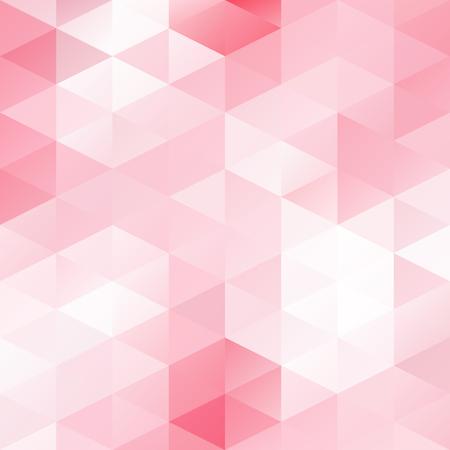 ピンクのグリッド モザイクの背景、創造的なデザイン テンプレート