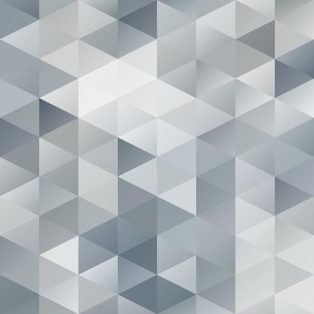 Grau, Weiß, Gitter Mosaic Hintergrund, kreatives Design Vorlagen Illustration