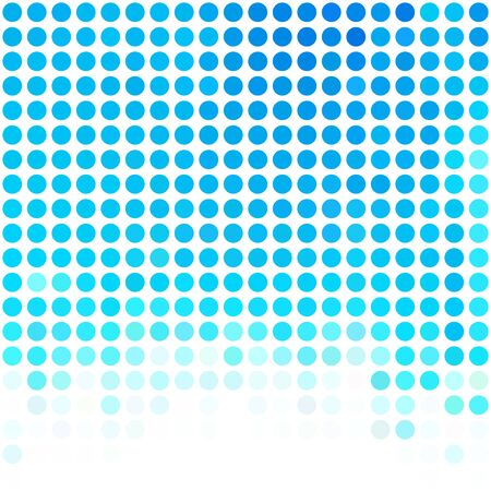 illustration round: Blue Dots Background, Creative Design Templates