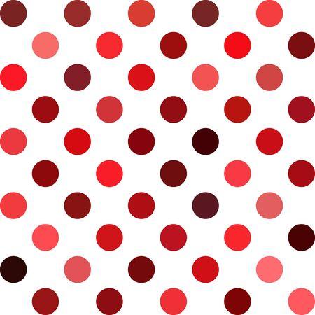 lunares rojos: Rojo Lunares fondo, plantillas de diseño creativo Vectores