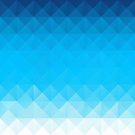 Blau Grid Mosaic Hintergrund, kreatives Design Vorlagen