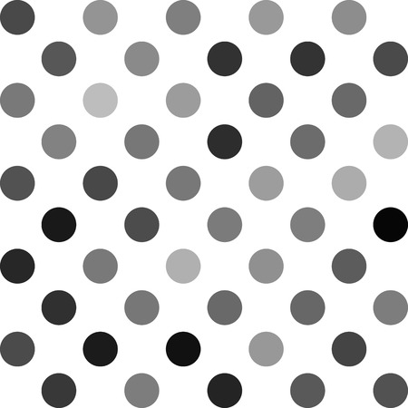repetition dotted row: Gray White Polka Dots Background, Creative Design Templates Illustration