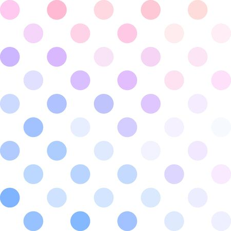 repetition dotted row: Colorful Polka Dots Background, Creative Design Templates Illustration