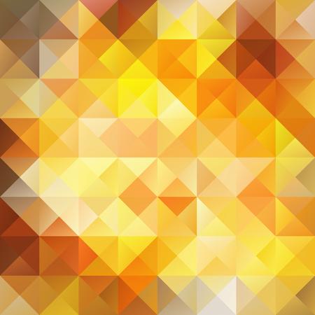 Orange Grid Mosaic Background, Creative Design Templates Ilustrace
