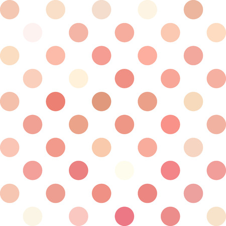 repetition dotted row: Pink Polka Dots Background, Creative Design Templates Illustration