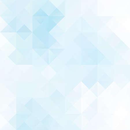 line art: Antecedentes del mosaico de cuadr�cula azul, plantillas de dise�o creativo